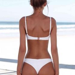 Angelsin Beyaz Bikini Takım