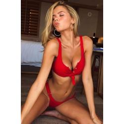 Angelsin Kırmızı Bikini Takım