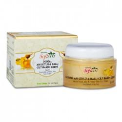 Softem Arı Sütlü Ballı Cilt Bakım Kremi 50 ml %100 Doğal