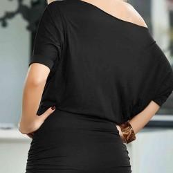 Merry See  Siyah Mini Elbise